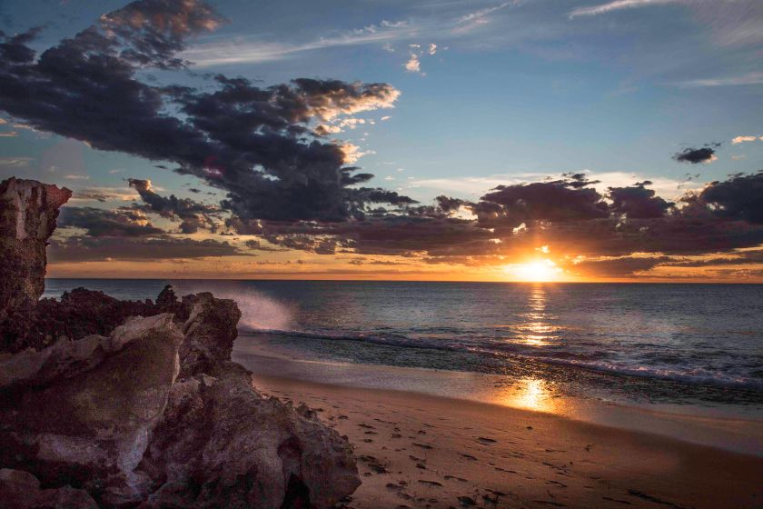Sunset Hallshead WA